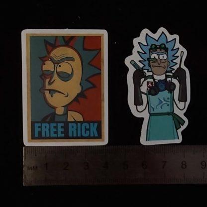Наклейки Рик и Морти -32